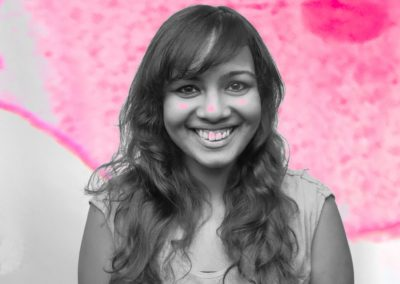Pint Of Science Creative Reactions Portraits- Jyothi