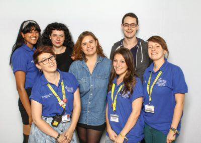 Jemima Willcox Photography Event images Anglia Ruskin University Freshers Fair Photobooth