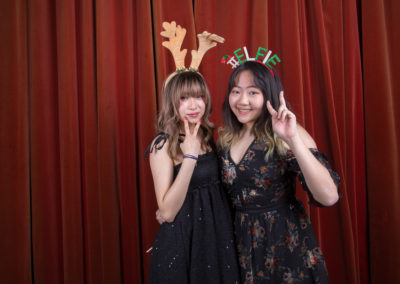 Jemima Willcox Photography Event images Christmas Ball Photo Booth
