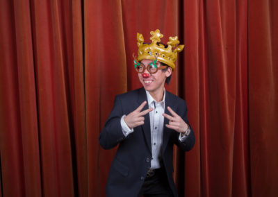 Jemima Willcox Photography Event images Christmas photo booth