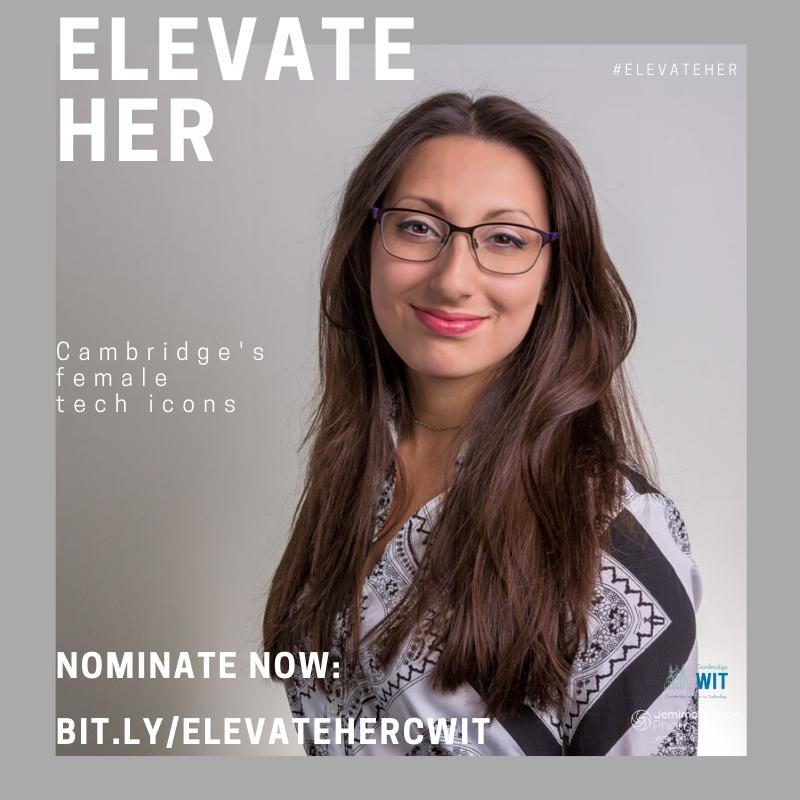 Elevate Her | Cambridge's Female Tech Icons