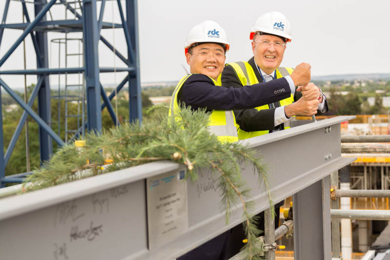 TusPark Topping Out Ceremony 190718-129